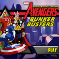 Play The Avengers Bunker Busters game